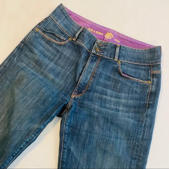 Rich & Skinny Denim - Rich & Skinny Womens Boot Cut Jeans Size 30 x 32